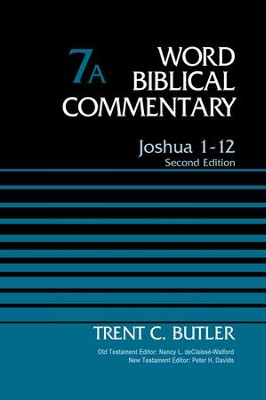 Joshua 1-12, Volume 7A: Second Edition - eBook  -     By: Trent Butler