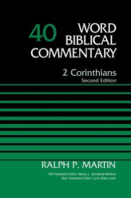 2 Corinthians, Volume 40: Second Edition - eBook  -     By: Ralph P. Martin