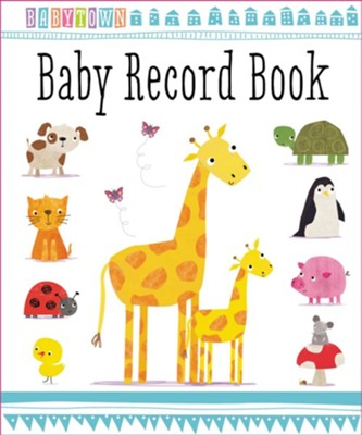 BabyTown Baby Record Book  -