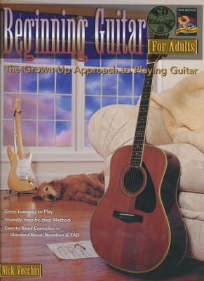 Beginning Guitar for Adults, Book & CD   -     By: Nick Vecchio