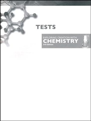 Exploring Creation with Chemistry, Test Booklet   -