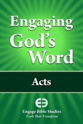 Engaging God's Word: Acts  -     By: Community Bible Study