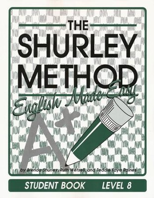 Shurley English Level 8 Student Textbook   -