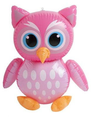 Camp Moose on the Loose: Inflatable Owl  -