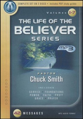 The Life of the Believer Series: 42 Bible Studies and Workbooks, MP3  -     By: Chuck Smith