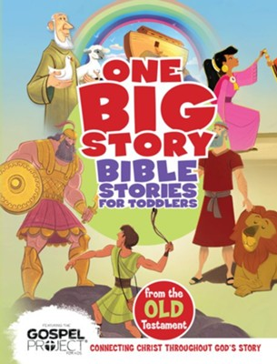 Bible Stories for Toddlers from the Old Testament  -     Edited By: B&H Editorial Staff     Illustrated By: Heath McPherson