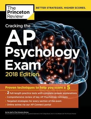 Cracking the AP Psychology Exam, 2018 Edition: Proven Techniques to Help You Score a 5 - eBook  -     By: Princeton Review