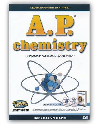 Light Speed Chemistry AP Exam Prep DVD   -