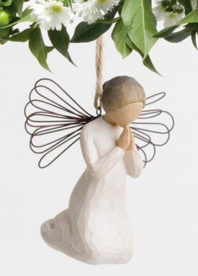 Willow Tree &#174 Angel Of Prayer Ornament   -     By: Susan Lordi