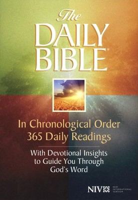 The NIV Daily Bible, Softcover   -     By: F. LaGard Smith