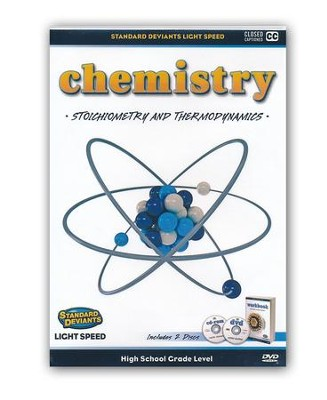 Light Speed Chemistry Module 4: Stoichimetry and Thermodynamics DVD  -