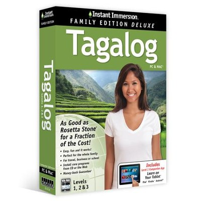 Instant Immersion Family Edition Deluxe Tagalong Levels 1, 2, & 3 on CD-Rom  -     Narrated By: EuroTalk     By: EuroTalk