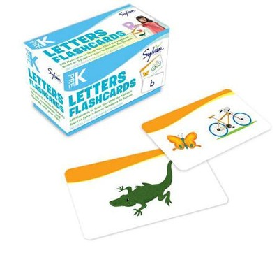 Pre-K Letters Flashcards  -     By: Sylvan Learning