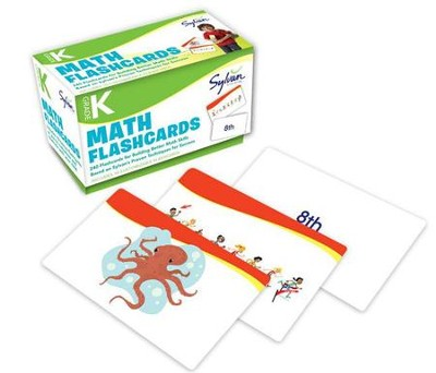 Kindergarten Math Flashcards  -     By: Sylvan Learning