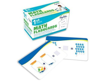 First Grade Math Flashcards  -     By: Sylvan Learning