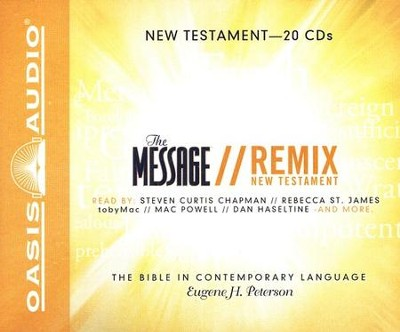 The Message Remix: The New Testament - Unabridged Audiobook on CD  -     By: Eugene H. Peterson