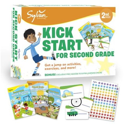 Sylvan Kick Start for Second Grade  -     By: Sylvan Learning