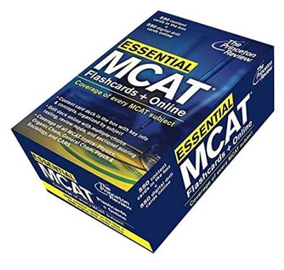 Essential MCAT Flashcards  -     By: Princeton Review