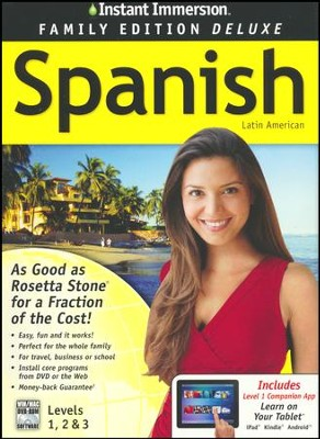 Instant Immersion Family Edition Deluxe Spanish Levels 1, 2, & 3 on CD-Rom  -     By: EuroTalk