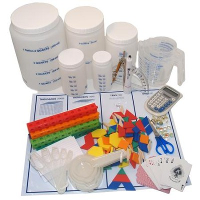 Horizons Math Expansion Manipulative Kit, Grades 4-6   -