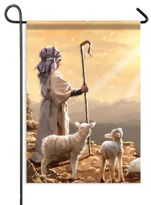 Shepherd Boy Flag, Small  -     By: Macneil Studio