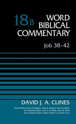 Job 38-42, Volume 18B - eBook  -     By: David J.A. Clines