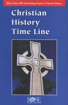 Christian History Time Line Pamphlet - 5 Pack  -