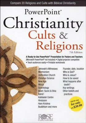 Christianity, Cults & Religions: PowerPoint CD-ROM   -