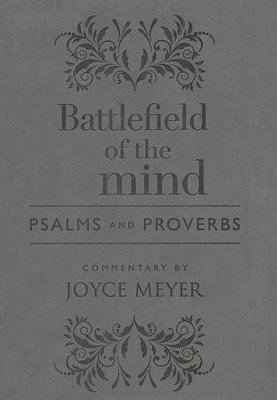 Amplified Bible, Battlefield of the Mind: Psalms and Proverbs Imitation Leather  -     By: Joyce Meyer