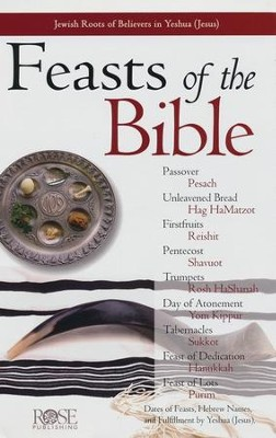 Feasts of the Bible, Pamphlet   -