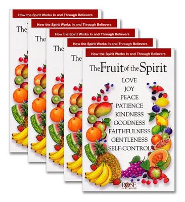 Fruit of the Spirit Pamphlet - 5 Pack  -