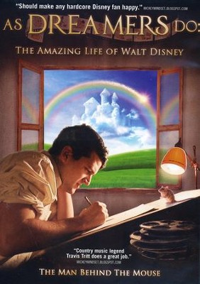 As Dreamers Do: The Amazing Life of Walt Disney, DVD   -