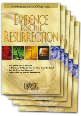 Evidence for the Resurrection Pamphlet - 5 Pack  -