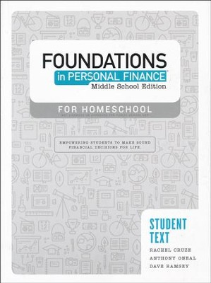 Foundations in Personal Finance: Middle School Student Text  -     By: Dave Ramsey