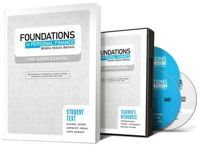 Foundations in Personal Finance Kit: Middle School, Homeschool Edition  -     By: Dave Ramsey