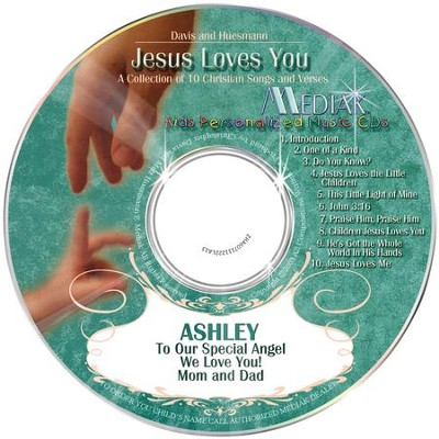 Jesus Loves You, Personalized CD Collection   -
