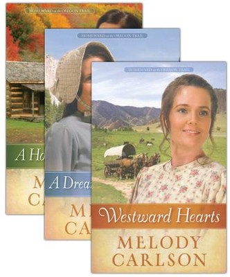 Homeward on the Oregon Trail Series, Volumes 1-3  -     By: Melody Carlson