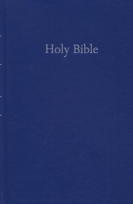 King James Version Ministry / Pew Bible, Hardcover, Navy  -