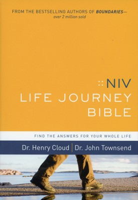 NIV Life Journey Bible: Find the Answers for Your Whole Life, Hardcover                -     By: Dr. Henry Cloud, Dr. John Townsend