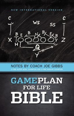 The Game Plan for Life Bible, NIV: Notes by Joe Gibbs  -     By: Joe Gibbs