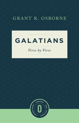 Galatians Verse by Verse - eBook  -     By: Grant R. Osborne