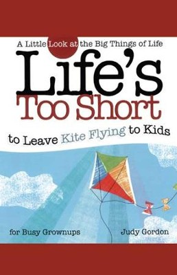 Life's too Short to Leave Kite Flying to Kids: A Little Look at the Big Things in Life - eBook  -     By: Judy Gordon