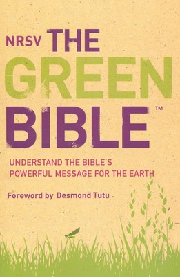 NRSV, The Green Bible, Softcover  -