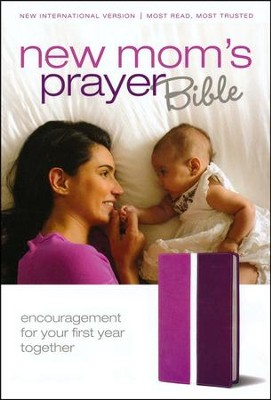 NIV New Mom's Prayer Bible, Case of 24   -