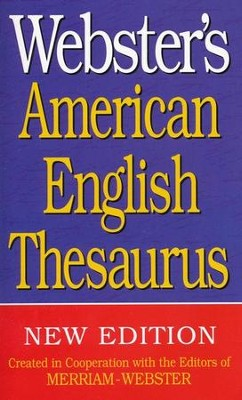 Webster's American English Thesaurus (New Edition)   -