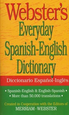 Webster's Everyday Spanish-English Dictionary   -