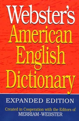 Webster's American English Dictionary, Expanded  Edition  -