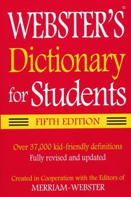 Webster's Dictionary for Students Fifth Edition   -