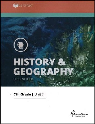 Lifepac History & Geography Grade 7 Unit 1: What Is History?   -