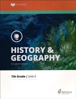 Lifepac History & Geography Grade 7 Unit 4: Anthropology   -